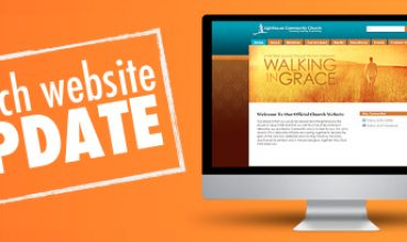 Design church website